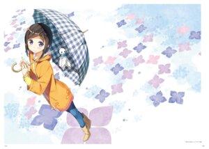 Rating: Safe Score: 21 Tags: imouto_sae_ireba_ii. kantoku umbrella User: kiyoe
