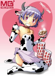 Rating: Safe Score: 5 Tags: animal_ears horns tagme thighhighs watermark User: Radioactive