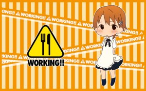 Rating: Safe Score: 7 Tags: chibi inami_mahiru wallpaper working!! User: tack