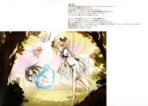 Rating: Safe Score: 12 Tags: dress ke-ta see_through sketch touhou wings User: red_destiny