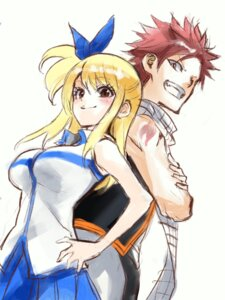Rating: Questionable Score: 7 Tags: fairy_tail lucy_heartfilia natsu_dragneel sukeno_yoshiaki User: YaruseniSen