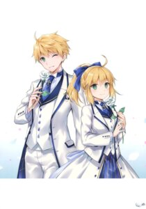 Rating: Questionable Score: 8 Tags: fate/grand_order nyanya saber saber_lily User: Radioactive