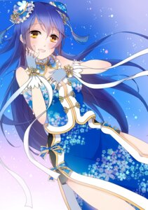 Rating: Safe Score: 24 Tags: asian_clothes breast_hold love_live! satoimo_chika sonoda_umi User: hamasen205