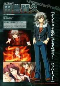 Rating: Safe Score: 4 Tags: 11eyes akamine_saiko blood kengou lass narumi_yuu profile_page tajima_takahisa User: syaoran-kun