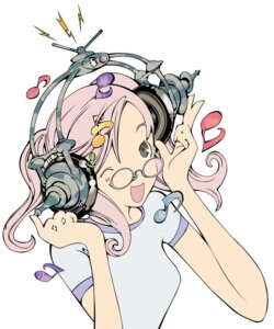 Rating: Safe Score: 11 Tags: air_gear headphones megane noyamano_ringo oh!_great vector_trace User: Radioactive