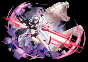Rating: Safe Score: 20 Tags: animal_ears arknights cleavage see_through tagme weapon User: BattlequeenYume