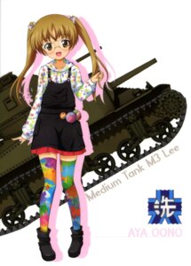 Rating: Safe Score: 12 Tags: dress girls_und_panzer megane oono_aya overalls tagme thighhighs User: drop