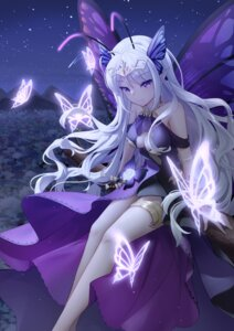 Rating: Questionable Score: 42 Tags: cleavage fairy garter no_bra pointy_ears qianze_chia wings User: Dreista