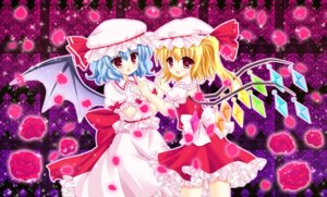 Rating: Safe Score: 9 Tags: flandre_scarlet kouta. remilia_scarlet touhou wings User: 椎名深夏