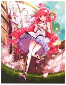 Rating: Safe Score: 40 Tags: chiba_sadoru dress kaku-san-sei_million_arthur thighhighs User: Radioactive