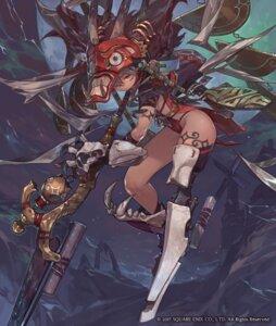 Rating: Safe Score: 17 Tags: horns leotard mecha_musume servant_of_thrones so-taro tattoo weapon User: Dreista