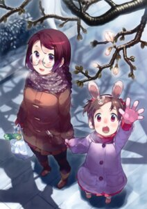 Rating: Safe Score: 20 Tags: animal_ears bunny_ears megane pantyhose yasu User: Bulzeeb