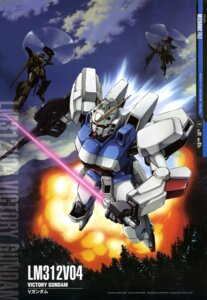 Rating: Safe Score: 7 Tags: abe_shingo gun gundam mecha sword victory_gundam User: drop