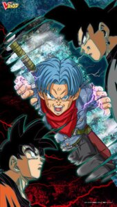 Rating: Safe Score: 13 Tags: black_goku dragon_ball male son_goku sword tagme trunks User: kiyoe