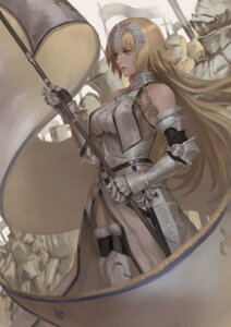 Rating: Safe Score: 33 Tags: armor fate/apocrypha fate/grand_order fate/stay_night jeanne_d'arc jeanne_d'arc_(fate) peperon sword thighhighs User: Mr_GT