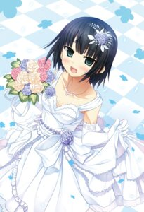 Rating: Safe Score: 48 Tags: arishima_alice cleavage cura digital_version dress lose monobeno wedding_dress User: Twinsenzw