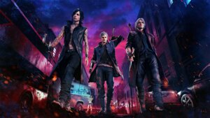 Rating: Safe Score: 10 Tags: dante devil_may_cry nero nico_(devil_may_cry) User: HarrisonBrown