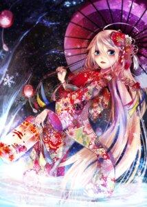 Rating: Safe Score: 22 Tags: ia_(vocaloid) kimono soroa umbrella vocaloid User: WhiteExecutor