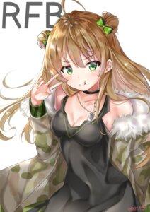Rating: Safe Score: 36 Tags: cleavage dress girls_frontline meito_harmren rfb_(girls_frontline) User: aaayu