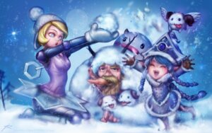 Rating: Safe Score: 25 Tags: dress horns league_of_legends lulu_(league_of_legends) mecha_musume olaf_(league_of_legends) orianna_reveck phantom_ix_row poro_(league_of_legends) wallpaper wings User: charunetra