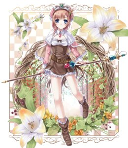 Rating: Safe Score: 25 Tags: atelier atelier_rorona dress miyase_mahiro rorolina_frixell User: ddns001