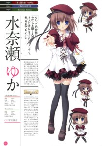Rating: Safe Score: 15 Tags: 11eyes chibi chikotam minase_yuka profile_page seifuku thighhighs User: crim