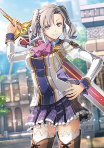 Rating: Safe Score: 28 Tags: falcom sword tagme thighhighs uniform User: Radioactive