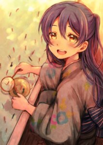 Rating: Safe Score: 33 Tags: lilylion26 love_live! sonoda_umi yukata User: charunetra