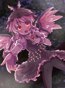 Rating: Safe Score: 17 Tags: animal_ears kuromame_(8gou) mystia_lorelei pantyhose touhou wings User: Nekotsúh