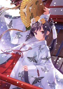 Rating: Safe Score: 90 Tags: kasukabe_akira miko User: Twinsenzw
