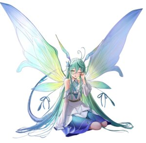 Rating: Questionable Score: 16 Tags: dress fairy morichika_shuuto tail wings User: Dreista