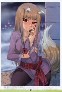 Rating: Safe Score: 48 Tags: animal_ears holo koume_keito spice_and_wolf tail User: Eruru