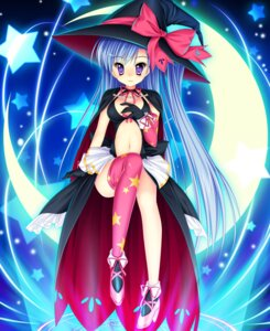 Rating: Safe Score: 32 Tags: cleavage game_cg ima_mo_itsuka_mo_faruna_runa kamiya_tomoe manatsu_8 thighhighs witch User: WtfCakes