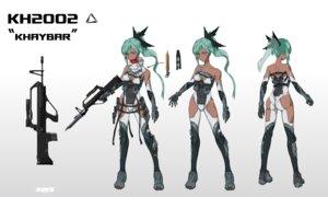 Rating: Questionable Score: 10 Tags: ass character_design cleavage gun leotard no_bra tagme weapon zinz User: Dreista