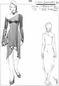 Rating: Safe Score: 2 Tags: dress heels rahxephon sketch yamada_akihiro User: Radioactive