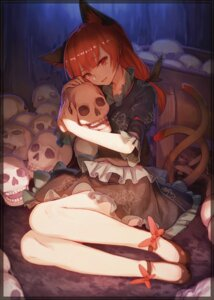 Rating: Safe Score: 54 Tags: animal_ears kaenbyou_rin notsugimi tail touhou User: Mr_GT
