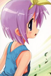 Rating: Questionable Score: 14 Tags: archives hechi hiiragi_tsukasa loli lucky_star nipple_slip overalls User: petopeto