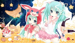 Rating: Safe Score: 20 Tags: hatsune_miku lots_of_laugh_(vocaloid) sakuragi_yuzuki vocaloid User: Riven