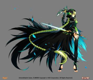 Rating: Safe Score: 33 Tags: elsword rena_(elsword) sword tagme thighhighs transparent_png User: Nepcoheart