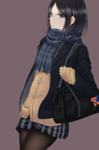 Rating: Safe Score: 43 Tags: pantyhose saito_(artist) seifuku splatoon sweater User: mash