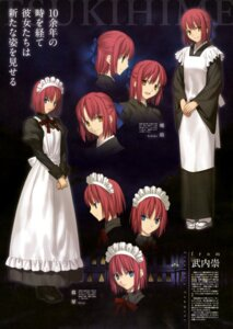 Rating: Safe Score: 20 Tags: hisui kohaku maid takeuchi_takashi tsukihime type-moon User: drop