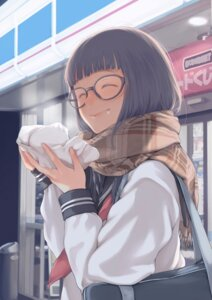 Rating: Safe Score: 27 Tags: kamo megane seifuku User: saemonnokami