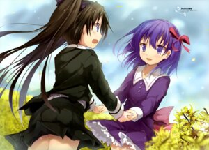 Rating: Safe Score: 43 Tags: efe fate/stay_night fate/zero matou_sakura seifuku toosaka_rin User: drop