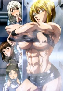 Rating: Questionable Score: 42 Tags: eva_frost megane michelle_k._davis no_bra sheila_levitt shirt_lift terra_formars underboob undressing uniform wet yanasegawa_yaeko User: drop