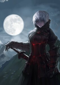 Rating: Safe Score: 12 Tags: armor black_cat_foot_point fate/stay_night saber saber_alter sword User: Radioactive