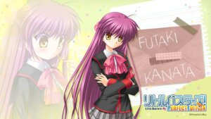 Rating: Safe Score: 5 Tags: futaki_kanata hinoue_itaru key little_busters! seifuku wallpaper User: girlcelly