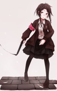 Rating: Safe Score: 11 Tags: hachisiti pantyhose weapon User: KazukiNanako