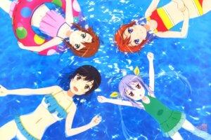 Rating: Safe Score: 34 Tags: bikini cleavage ichijou_hotaru koshigaya_komari koshigaya_natsumi miyauchi_renge non_non_biyori onoda_masahito swimsuits wet User: drop
