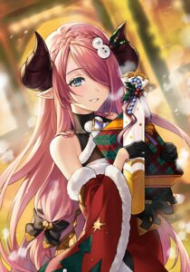 Rating: Questionable Score: 18 Tags: christmas granblue_fantasy horns narumeia_(granblue_fantasy) pointy_ears shiao User: Mr_GT