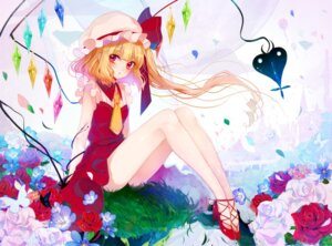 Rating: Safe Score: 26 Tags: ass daimaou_ruaeru flandre_scarlet heels nopan touhou wings User: charunetra